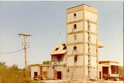 FSI BURN TOWER  1982