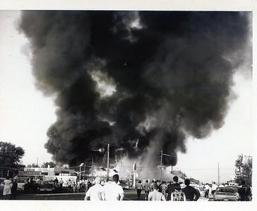 LOSKAJIAN CARPET STORE FIRE  3003 OGDEN  3-14-1963 B