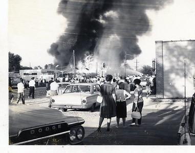 LOSKAJIAN CARPET STORE FIRE  3003 OGDEN  3-14-1963 A