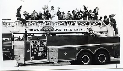 STATE CHAMPS PARADING 11-12-84