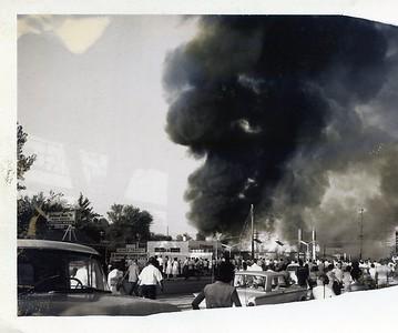 LOSKAJIAN CARPET STORE FIRE  3003 OGDEN  3-14-1963 C