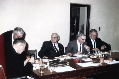 125 YEARS OF SERVICE  ELMER DICKE 50 YRS - LEONARD DICKE  42 YRS AND REED LOY  33 YRS  4-9-69