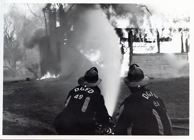 CONTROLLED BURN  1970'S
