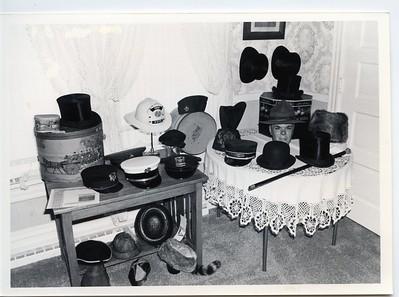 DG MUSEUM HAT DISPLAY 6-17-81