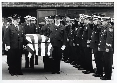 DICK FISHER FUNERAL 11-13-87