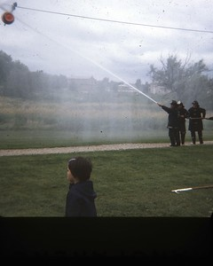 WATER FIGHTS (JULY 1970)  PHOTO 1