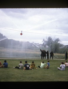 WATER FIGHTS (JULY 1970)  PHOTO 2