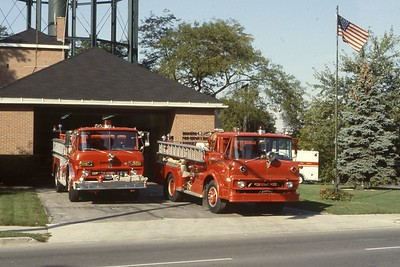 FIRE STATION 2  VEHICLES  (OCTOBER 1978)