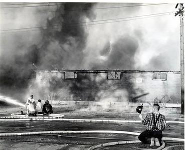 (8-7-63) LOSHKAJIAN CARPET FIRE  REED LOY VISIBLE