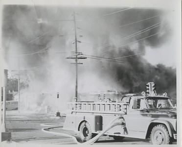 (8-7-63)  LOSHKAJIAN CARPET FIRE  ENG 360 WORKING