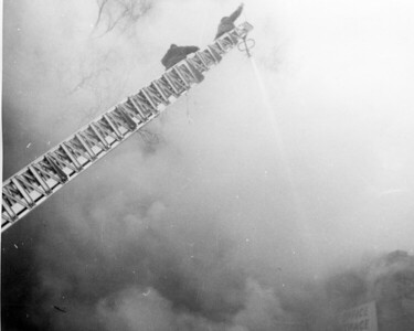 (2-9-1959)   OFFICE BUILDING FIRE  1013 CURTIS    PHOTO 6