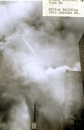 (2-9-1959) OFFICE BUILDING FIRE  1013 CURTIS  PHOTO 4