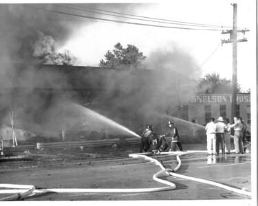 (8-7-63) LOSHKAJIAN CARPET FIRE   OGDEN & FAIRVIEW     LARRY BERTLON VISIBLE