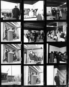 (4-26-71)  DEDICATION OF STATION 3  DON BUNTING PHOTO 9, JOHN WANDER PHOTO 11, CHIEF FRANK WANDER PHOTO12