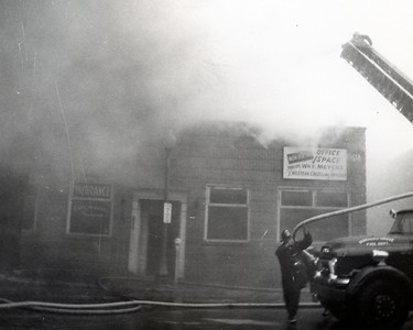 (2-9-1959) OFFICE BUILDING FIRE  1013 CURTIS  PHOTO 2