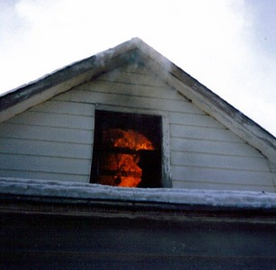 Gary at a Training fire 1