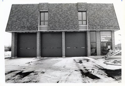 NEW STATION 5 BEFORE OPENING 1-9-86