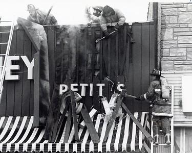 DIFATTA ON LADDER  1987