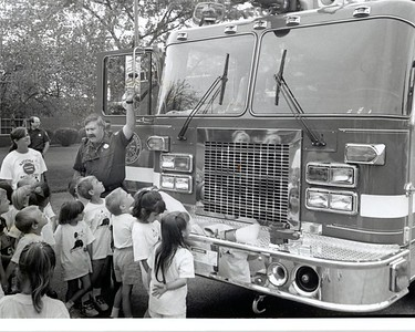 LAZ  AND PICHA AT SAFETY TOWN 1983