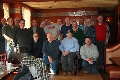 Retirees breakfast group shot