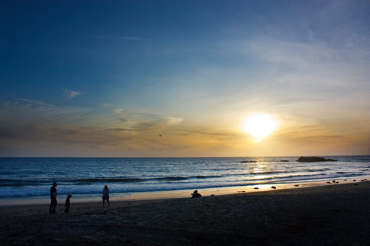 Assignment 3 - Sunset/Night Photography<br /> Laguna Beach sunset.