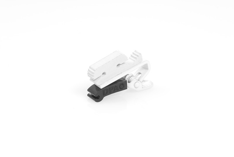 Miniature ClipDouble Lock WhiteDMM0008-w