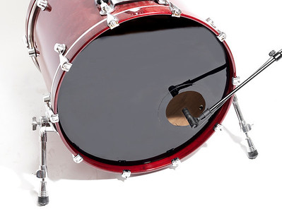 DPA 2011C on Bass Drum