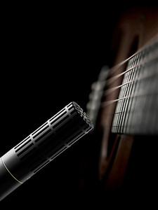 DPA 2011C on guitar