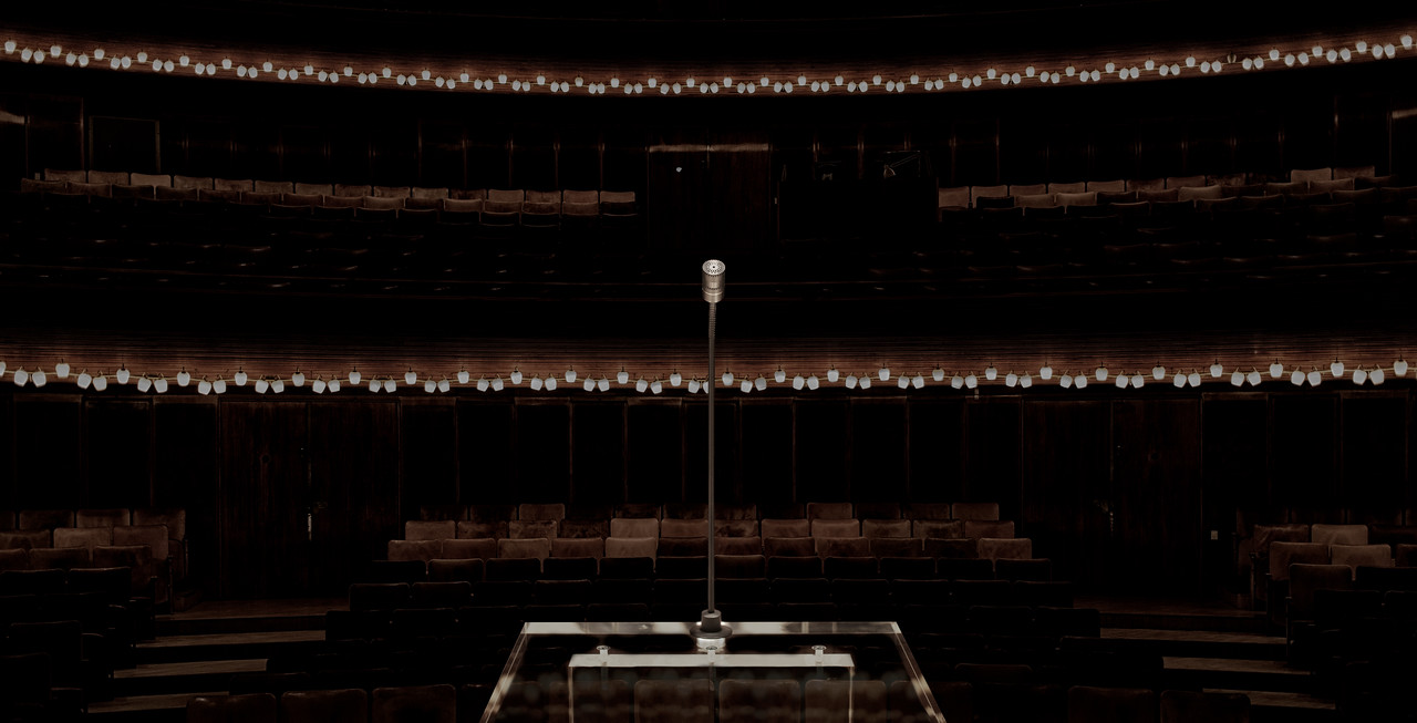 DPA Podium Mics in Concert Hall