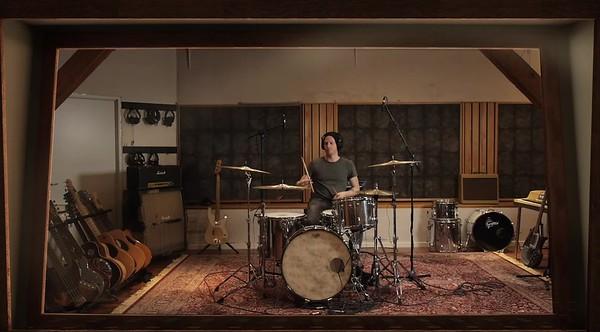 DPA Studio drum soundcheck