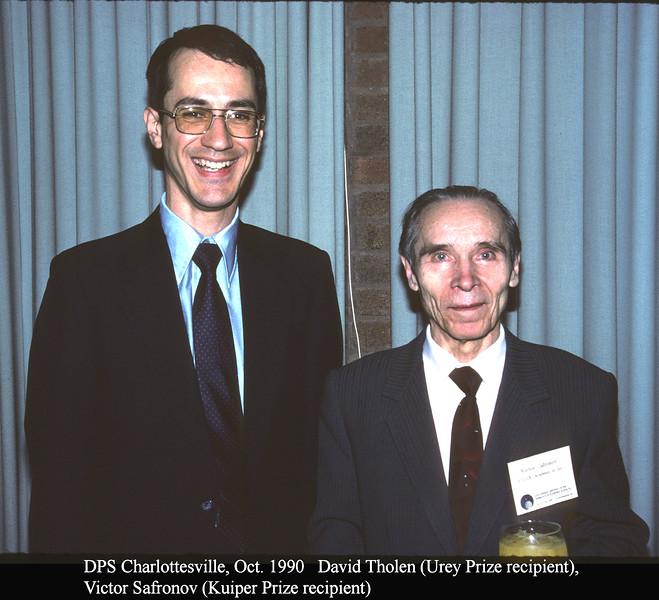 Gerard P. Kuiper Prize and Harold C. Urey Prize
