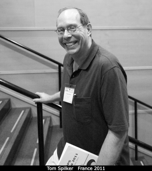 Tom Spilker (JPL), moments before I corner him with a question regarding his encyclopedic knowledge of stereographic images.<br /> <br /> Credit: Henry Throop<br /> Oct 2011