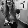 French reporter Gabrielle Hess-Fern asks me my opinion!<br /> <br /> Credit: Henry Throop<br /> Oct 2011