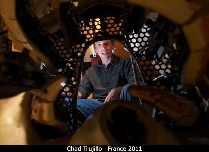 Chad Trujillo (Gemini) inside the Nautilus.<br /> <br /> Credit: Henry Throop<br /> Oct 2011