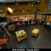 The organizers of the EPO components really did a great job here -- tons of students and a huge and cool exhibit.<br /> <br /> Credit: Henry Throop<br /> Oct 2011