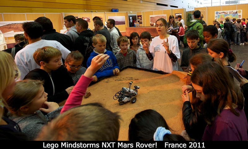 Go, Lego Mindstorms NXT Mars Rover!<br /> <br /> Credit: Henry Throop<br /> Oct 2011