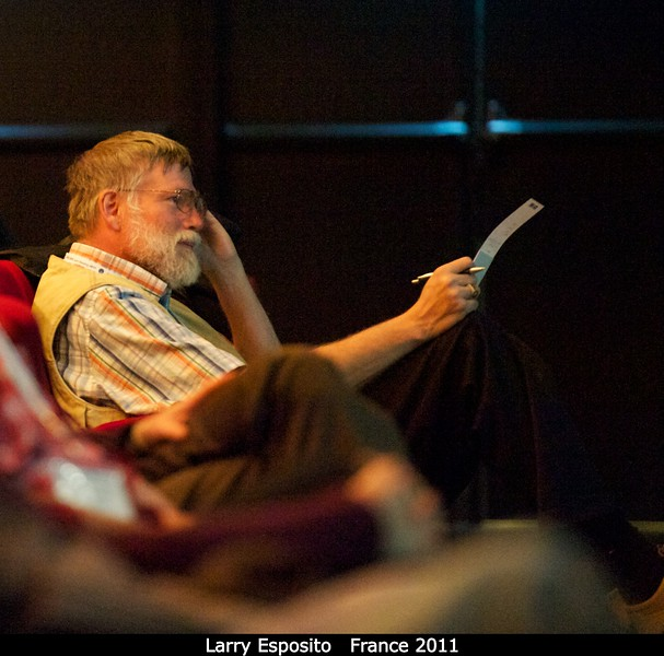 Larry Esposito (CU).<br /> <br /> Credit: Henry Throop<br /> Oct 2011
