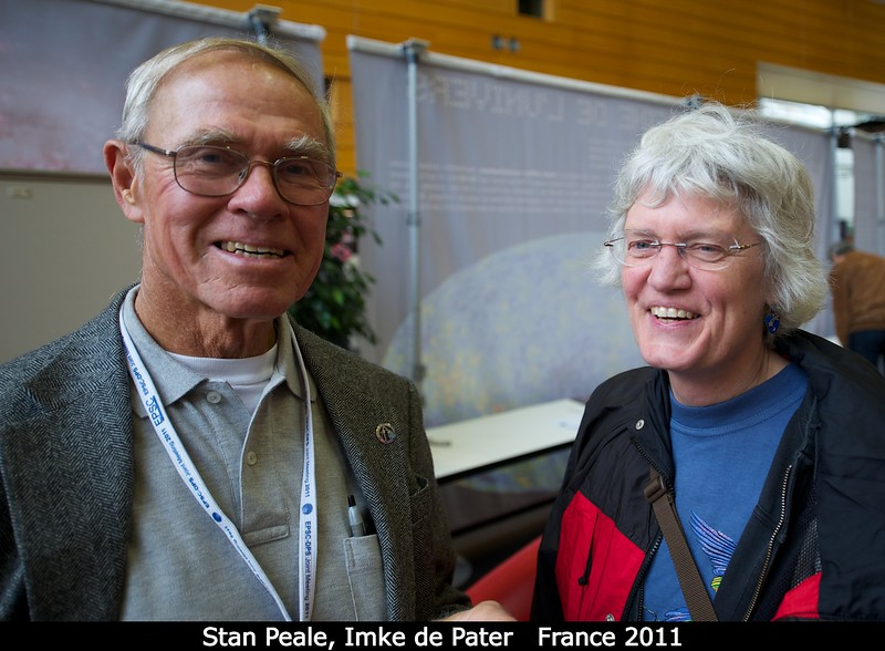 Stan Peale (UCSB) and  Imke de Pater (Berkeley).<br /> <br /> Credit: Henry Throop<br /> Oct 2011