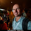 David Nesvorny (SwRI) has made the long trek from Nice.<br /> <br /> Credit: Henry Throop<br /> Oct 2011