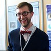 Justin Erwin (UVa) has seriously cut back the beard from last year's DPS. The bow tie was probably under there the whole time, invisible to the world...<br /> <br /> Credit: Henry Throop<br /> Oct 2011
