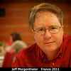 Jeff Morgenthaler (PSI). Jeff and the rest of the PSI group had dinner in the old LU biscuit factory building.<br /> <br /> Credit: Henry Throop<br /> Oct 2011