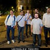 Luke Dones, Carlos Chavez, Mike Roman, Roderik Koenders, Patrick Taylor, and Kartik Kumar walking home through Nantes.<br /> <br /> Credit: Henry Throop<br /> Oct 2011