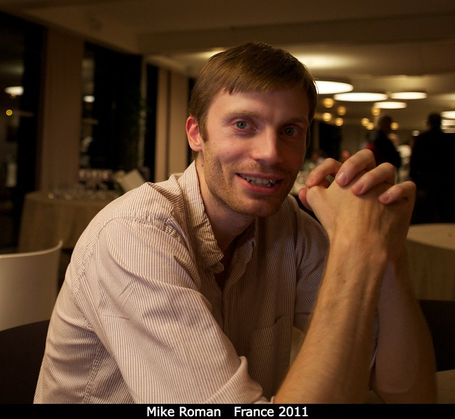 Mike Roman (Cornell).<br /> <br /> Credit: Henry Throop<br /> Oct 2011
