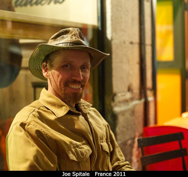 Joe Spitale (PSI), is rarely seen without his hat.<br /> <br /> Credit: Henry Throop<br /> Oct 2011