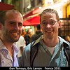 Dan Tamayo (Cornell) and Eric Larson (SwRI) are heading out in Nantes.<br /> <br /> Credit: Henry Throop<br /> Oct 2011