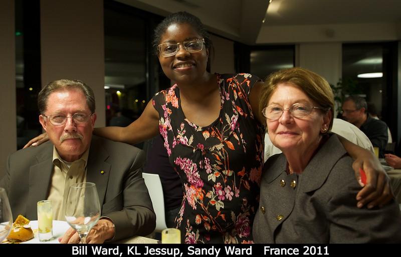 Bill Ward, KL Jessup, Sandy Ward.<br /> <br /> Credit: Henry Throop<br /> Oct 2011