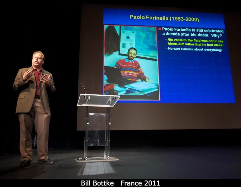 Bill Bottke (SwRI) talks inspiration...<br /> <br /> Credit: Henry Throop<br /> Oct 2011
