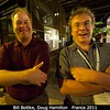 Bill Bottke (SwRI) and Doug Hamilton (U. Maryland).<br /> <br /> Credit: Henry Throop<br /> Oct 2011