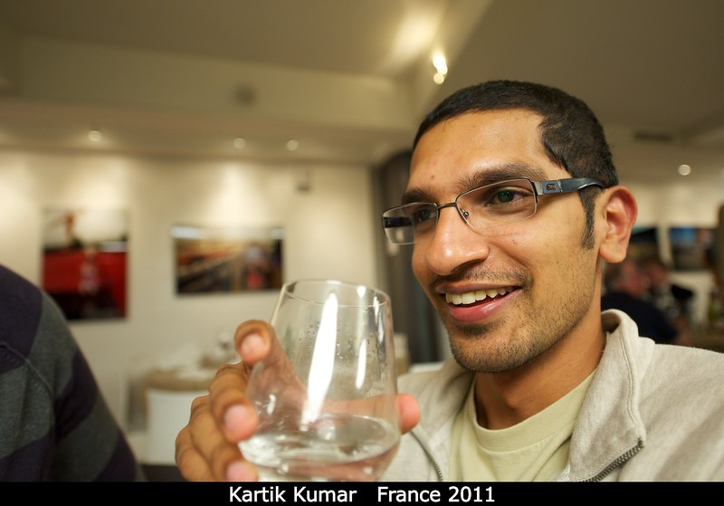 Kartik Kumar (TU Delft; Berkeley).<br /> <br /> Credit: Henry Throop<br /> Oct 2011