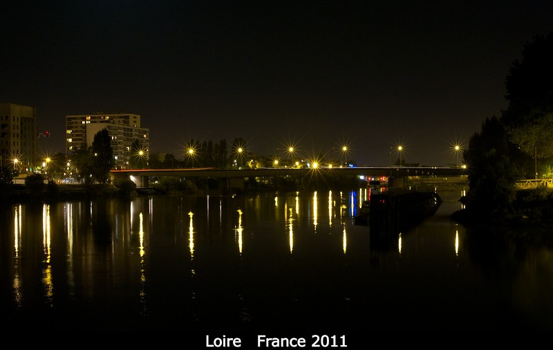 Looking down the Loire in Nantes.<br /> <br /> Credit: Henry Throop<br /> Oct 2011